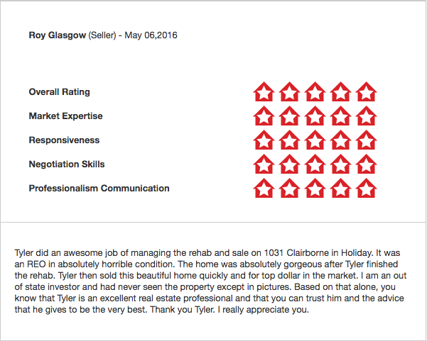 Tyler Sheff Real Estate Agent In Tampa Fl Review